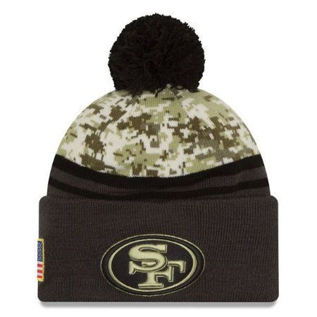 Gorro San Francisco 49ers Salute To Service STS Militar - New Era