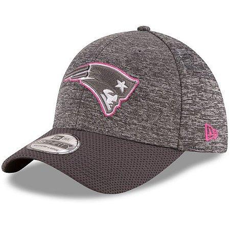 Boné New England Patriots 3930 Outubro Rosa - New Era