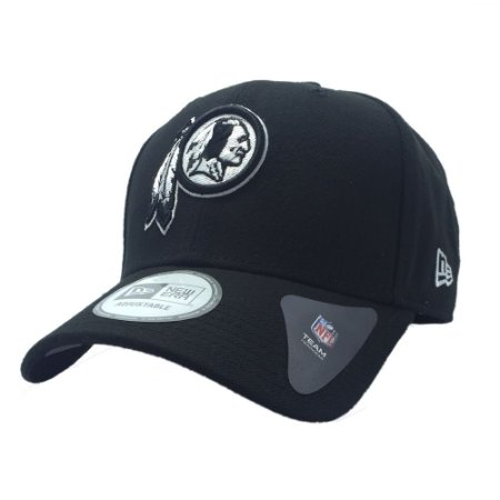 Boné Washington Redskins 940 Snapback White on Black - New Era