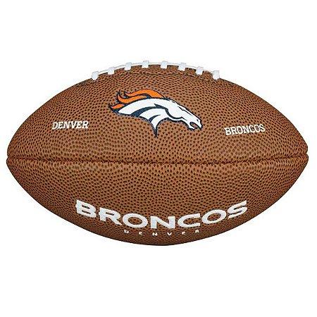 Bola Futebol Americano Denver Broncos - NFL Wilson - FIRST DOWN ... 7db8fa6ff32