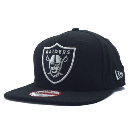 Boné Oakland Raiders 950 White on Black - New Era