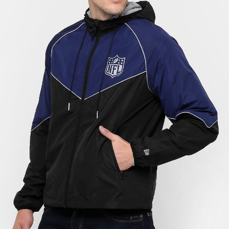 Jaqueta Windbreaker Quebra-vento NFL - New Era