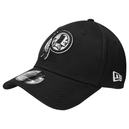 Boné Washington Redskins 3930 White on Black - New Era