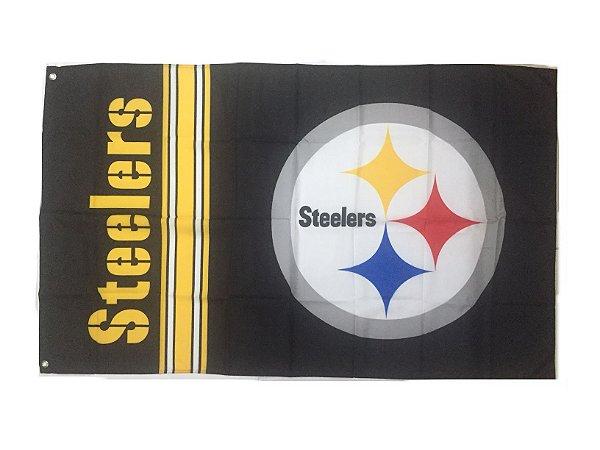 Bandeira Pittsburgh Steelers NFL - Grande