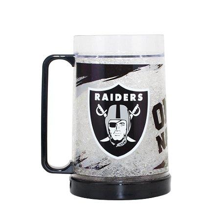 Caneca Chopp Térmica Oakland Raiders - NFL