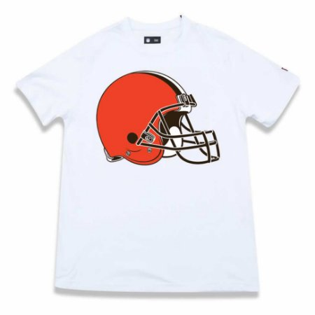 Camiseta Cleveland Browns NFL Basic Branca - New Era - FIRST DOWN ... bc3bb55071c