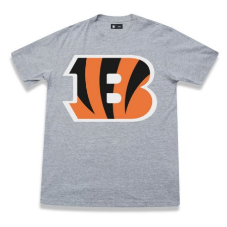 Camiseta Cincinnati Bengals NFL Basic Cinza- New Era