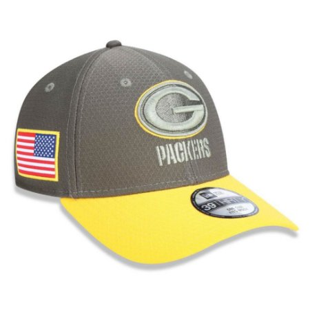 Bone Green Bay Packers Salute To Service STS Militar 3930 2017 - New Era cdb065946db