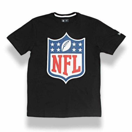Camiseta NFL Logo Preto - New Era
