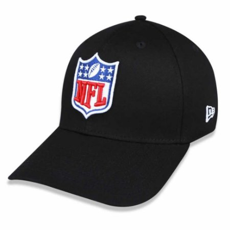 Boné NFL logo 3930 Basic Preto - New Era