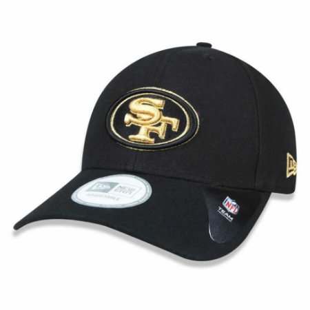 Boné San Francisco 49ers 940 Snapback Gold on Black - New Era