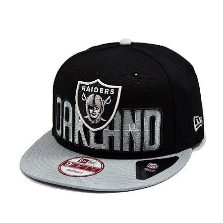 Boné Oakland Raiders DRAFT15 950 Snapback - New Era - FIRST DOWN ... 341fae028d2