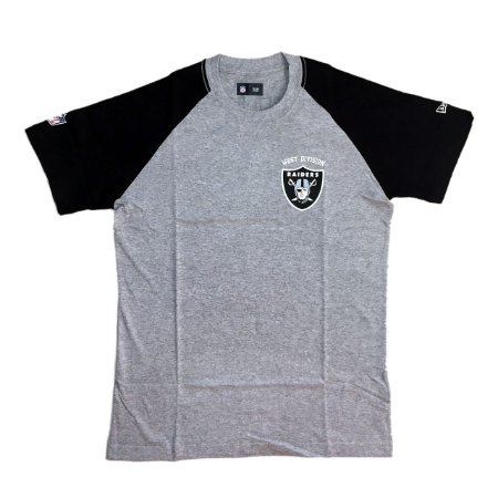 Camiseta Oakland Raiders Division Cinza - New Era