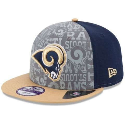 Boné Los Angeles Rams 950 Snapback Draft Reflective - New Era
