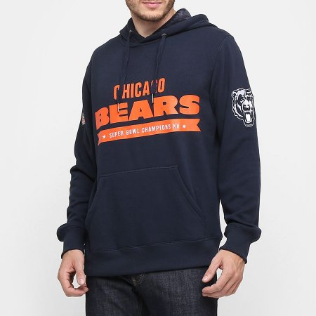 Casaco Moletom Chicago Bears Uniform - New Era