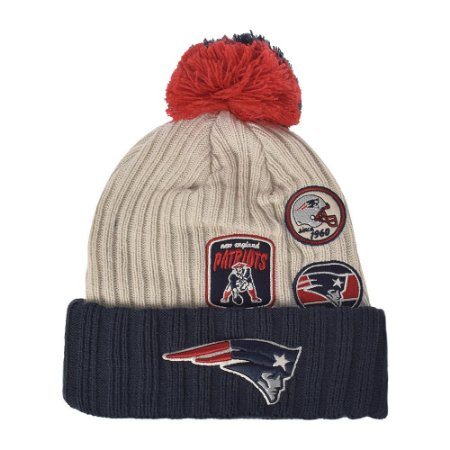 Gorro Touca New England Patriots Vintage Knitter - New Era