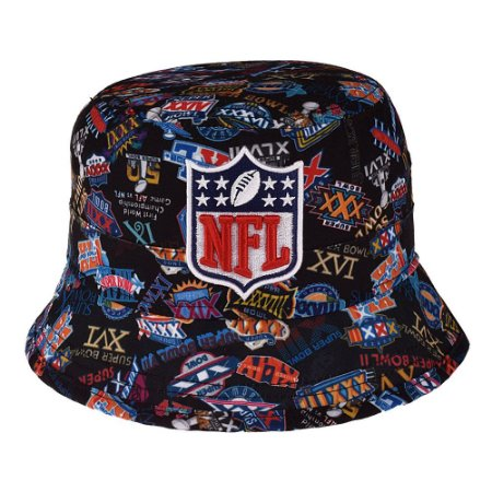 Chapéu Bucket Combo NFL - New Era