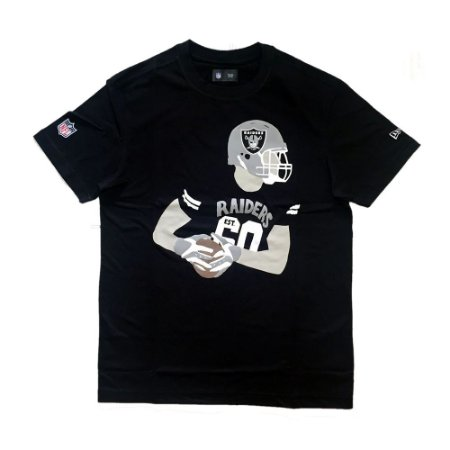 Camiseta Oakland Raiders Player Preto - New Era