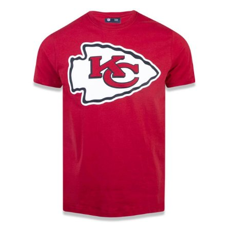 Camiseta Kansas City Chiefs NFL Basic Vermelho - New Era