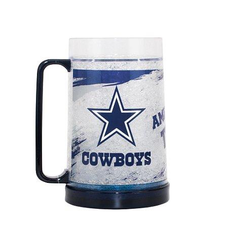 Caneca Chopp Térmica Dallas Cowboys - NFL