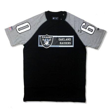 Camiseta Oakland Raiders Raglan Rec - New Era