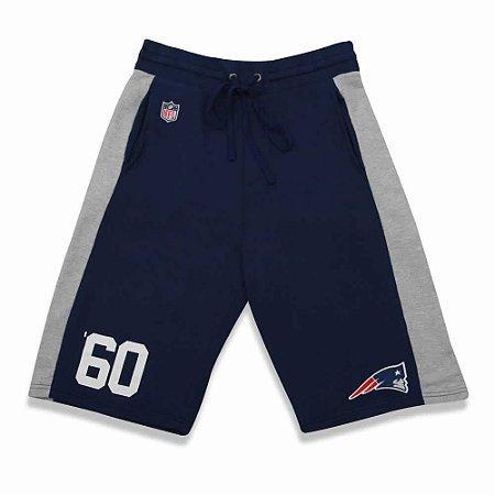 Bermuda Moletom New England Patriots Goal Azul NFL - New Era