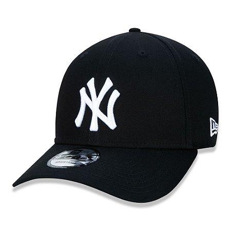 Boné New York Yankees 940 Snapback White on Black - New Era