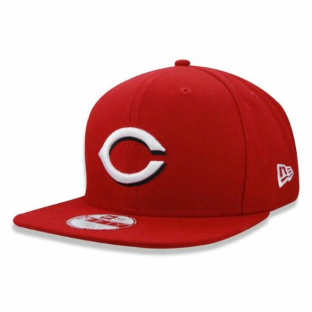 Boné Cincinnati Reds Strapback Team Color MLB - New Era
