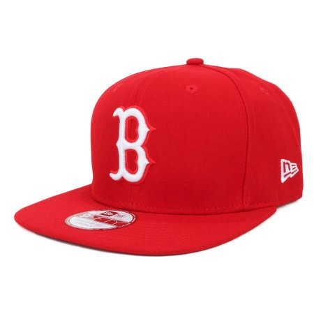 Boné Boston Red Sox strapback White on Red MLB - New Era