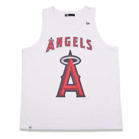 Regata Los Angeles Angels MLB Branca - New Era