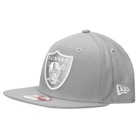 Boné Oakland Raiders 950 Snapback White on Gray - New Era