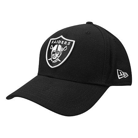 Boné Oakland Raiders 940 Snapback White on Black - New Era
