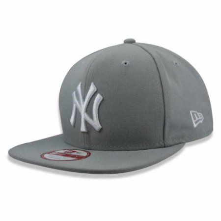 Boné New York Yankees strapback White on Gray MLB - New Era