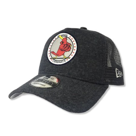 Boné Saint Louis Cardinals Vintage Trucker 940 Snapback - New Era