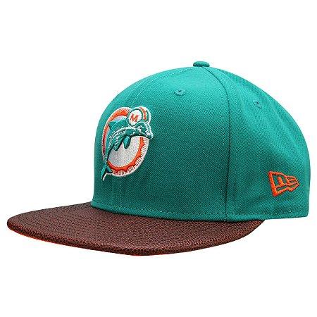 Boné Miami Dolphins 950 Athlete Vize Super Bowl VII - New Era