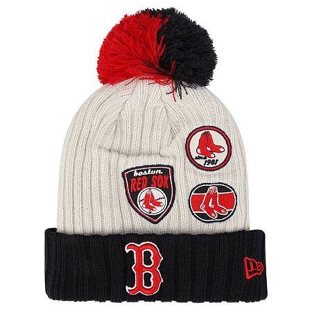 Gorro Touca Boston Red Sox Vintage Knitter - New Era