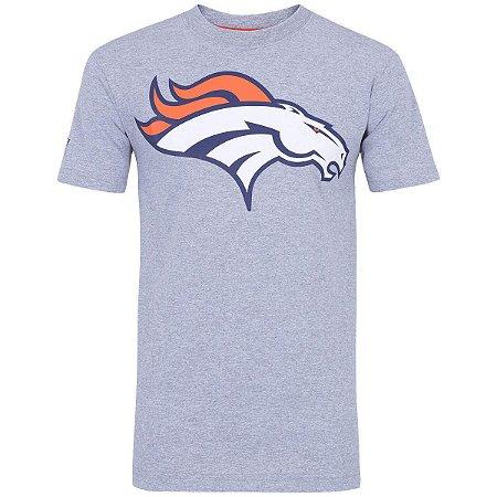 Camiseta Denver Broncos Basic NFL Cinza - New Era