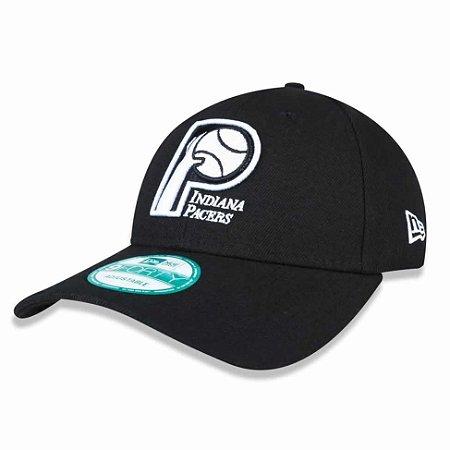 Boné Indiana Pacers 940 Snapback White on Black - New Era