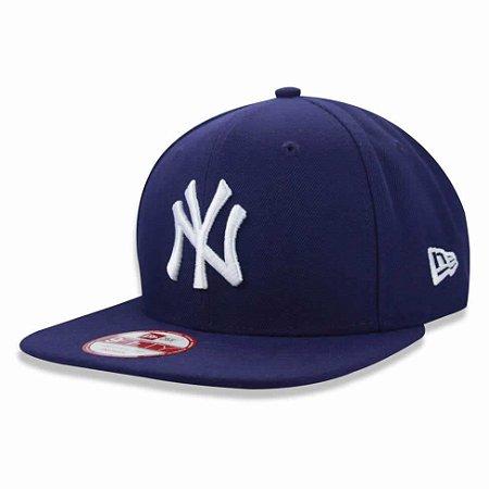 Boné New York Yankees 950 White on Purple ROXO MLB - New Era