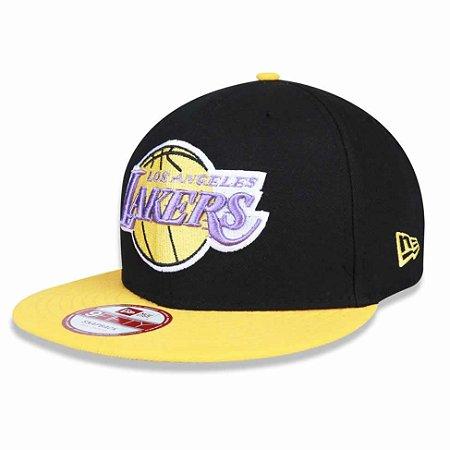 ccff043e507ea Boné Los Angeles Lakers 950 Baycik Snapback NBA - New Era - FIRST ...