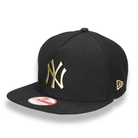 Boné New York Yankees 950 A-Frame Golden Metal MLB - New Era