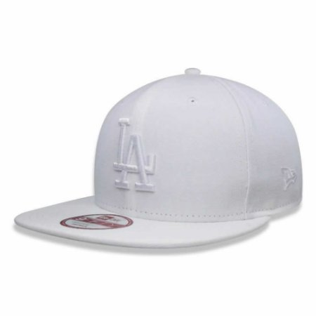 Boné Los Angeles Dodgers Strapback White on White MLB - New Era