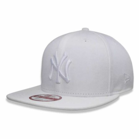 Boné New York Yankees 950 White on White Branco MLB - New Era