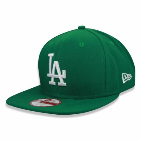 Boné Los Angeles Dodgers 950 White on Green MLB - New Era