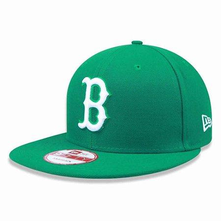 Boné Boston Red Sox 950 White on Green MLB - New Era