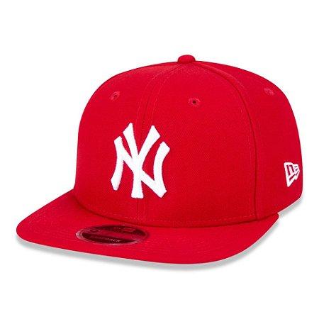 Boné New York Yankees 950 White on Red MLB - New Era