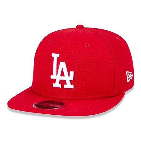 Boné Los Angeles Dodgers 950 White on Red MLB - New Era