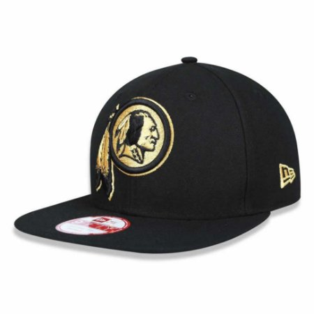 Boné Washington Redskins 950 Gold on Black - New Era