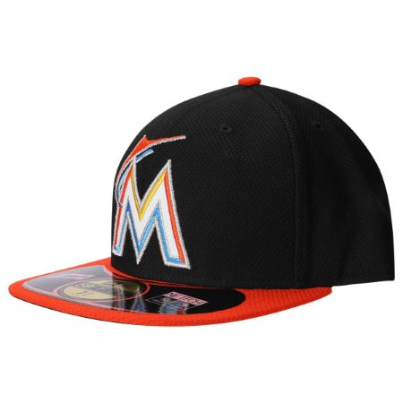 Boné Miami Marlins 5950 Diamond Fechado - New Era