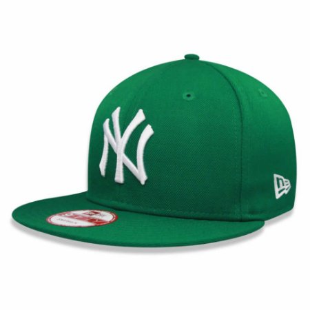 Boné New York Yankees 950 White on Green MLB - New Era